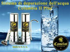 Sistema di depurazione dell'acqua Columbia II Plus. Filtri a carbone attivo e ceramica. Vodka Bottle, Columbia, Coffee Maker, Drinks, Filter, Coffee Maker Machine, Drinking, Coffee Percolator, Beverages