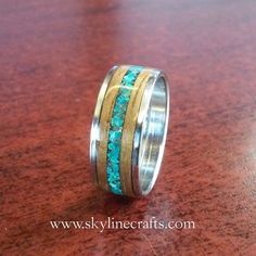 Koa Bentwood Ring. Handcrafted Koa Wood Ring on by SkylineCrafts