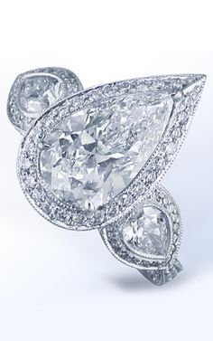 Ring Settings For Pear Shaped Diamond Jewelry Pear