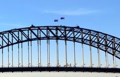 The Sydney Harbour Bridge.  #janeyjanetravels #sydneyharbourbridge Sydney Harbour Bridge Sydney New South Wales Australia [November 2015]. #harbourbridge #bridge #architecture #sydney #newsouthwales #nsw #australia #aussie #oz #summer #blueskies by janeyjane03 http://ift.tt/1NRMbNv