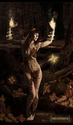>> Please full view << Thanks Inspiration: Dryads are tree nymphs in Greek mythology... Credits: *mjranum-stock | ~StockCity | =Kittyd-Stock | ~cactusart | ~Falln-Brushes others from sx...