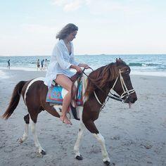 Instagram media by feetonforeignlands - A beach horse ride at Hua Hin. #huahin #huahinbeach