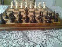 beantiful handmade jaques london  chess set