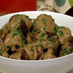 the chew   Recipe   Michael Symon's Swedish Meatballs