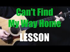 How to Play - Can't Find My Way Home - Blind Faith - Steve Winwood - Eric Clapton 12 String Acoustic Guitar, Acoustic Guitar Lessons, Guitar Songs, Acoustic Guitars, Guitar Chord Chart, Guitar Tabs, Beatles Songs, The Beatles, Guitar Chords Beginner