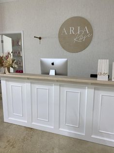 Spa Design, Salon Design, Coral Gables, Spa Room Decor, Wall Decor, Spa Interior, Boutique Decor, Counter Design, Hospital Design
