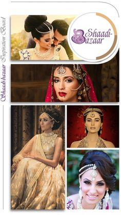 Tikka Inspiration all different types of desi wedding jewelry. #indian #pakistani