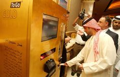 ATM's for gold - 9 Mind-Blowing Facts About Dubai