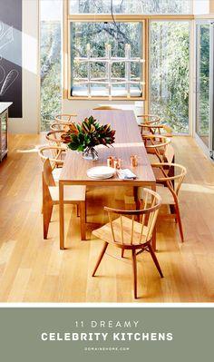 11 Dreamy Celebrity Kitchens