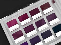 Pantone inspired cosmetics. Such a cool idea! I think packaging is why I buy half the makeup I own!