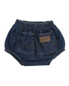 Wrangler® Denim Diaper Cover