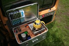 Outdoorküche Camping Car : Mobile camping küchenbox caddy tramper u a outdoorküche