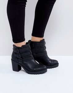 e120a9ef02adb5 London Rebel Ankle Boots Stiefel Mit Absatz