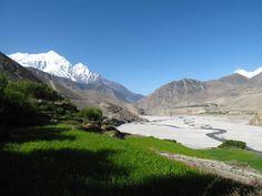 Kagbeni, Mustang region - and the Kali Gandaki river. Nepal