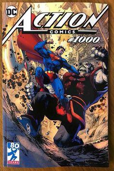 Complete list of Action Comics Covers Dc Comic Books, Comic Book Artists, Comic Book Covers, Comic Artist, Action Comics 1000, Jim Lee Art, My Superman, Batman, Superhero Villains