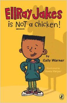 ELLRAY JAKES IS NOT A CHICKEN shows what life is really like for kids, especially on the playground and when parents aren't watching. Excellent chapter book series with African American protagonist. Full review at www.ChapterBookChat.wordpress.com.