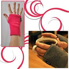 Heated Wristies- These look awesome. I am going to have to buy a pair! Life with psoriatic arthritis/ Chronic Illness Chronic Fatigue Syndrome, Chronic Illness, Chronic Pain, Hypermobility, Ankylosing Spondylitis, Migraine, Psoriatic Arthritis, Arthritis Gloves, Zebras