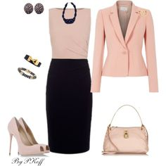 A fashion look from March 2014 featuring Giuseppe Zanotti pumps, Marc Jacobs shoulder bags and White House Black Market earrings. Browse and shop related looks.