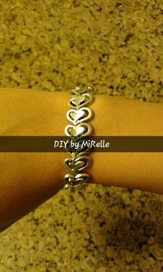Silver Hearts bracelet.  #silver #hearts #bracelete #bracelet #accessories #iloveaccessories #accessorizemepretty #handmade #handmadepassion #fororders #whatsapp #01207736577