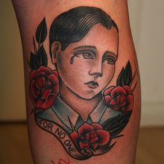 Jaclyn Rehe--I said I'd never get portrait tattoos but this style could convince me otherwise.