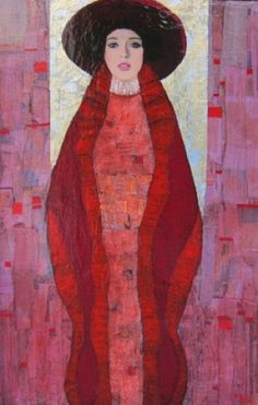 Richard Burlet's painting style is certainly inspired by  Art Nouveau, each portrait is different, expressing a unique personality that seems to flow from—and blend into–the carefully chosen ornamental details. The largely artificial aesthetic distinctions between art and design; depth and surface; background and foreground; originality and imitation are put to the test—and, ultimately, rendered meaningless—by Richard Burlet's breathtakingly beautiful art, much as they were by Klimt, his…