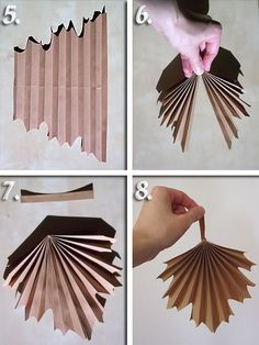 I also made a picture tutorial just so you can get a closer look on how i put template 17 together paperflowers paperflower handmade diy art Fall Crafts, Diy And Crafts, Crafts For Kids, Diy Paper, Paper Art, Paper Crafts, Large Paper Flowers, Diy Flowers, Origami Diy