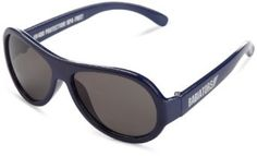 Babiators Unisex-Baby Infant Nighthawk Classic Sunglasses, Navy, Large Babiators. $16.80