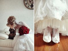 lace socks (except I'd like a different style lace) & a cat in a bow tie...love!