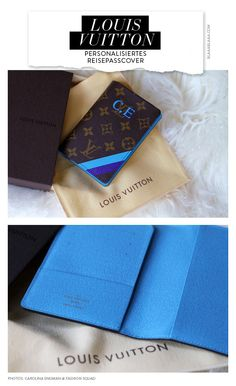 Louis Vuitton Personalized Passport Cover (Pics: Fashion Squad)
