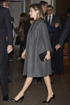 MARCH 10 Queen Letzia of Spain attends a concert at the National Auditorium in Madrid. Getty Images