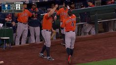 9/28/2015: George Springer's (Houston Astros) Home Run (Solo HR) of 2015 Season @ Seattle Mariners.