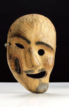 MASKS OF VIETNAM | Inuit spirit mask, Alaska. | Museum quality art prints, canvases ...