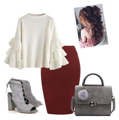 A fashion look from December 2017 featuring WearAll skirts and Boohoo ankle booties. Browse and shop related looks. Modest Church Outfits, Cute Modest Outfits, Modest Wear, Classy Outfits, Pretty Outfits, Fall Outfits, Casual Dresses, Casual Outfits, Modest Dresses