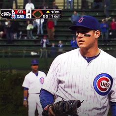 anthony rizzo | Tumblr Cubs Baseball, Baseball Players, Bear Cubs, Bears, Cubs Players, Go Cubs Go, Love My Man, Wrigley Field, Cubs Fan