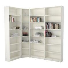 """BILLY Bookcase - white, 84 5/8/53 1/8x93 1/4x11 """" - IKEA"""