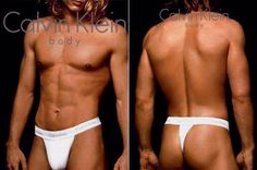Travis Fimmel from his modelling days - front and back...