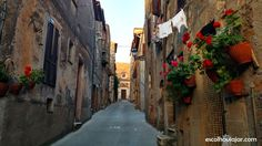 pitigliano-ruas-1 Traveling, Destinations, Adventure, Italy, Pictures