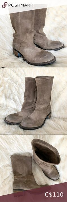 I just added this listing on Poshmark: Palladium Suede Boots in Taupe Colour. #shopmycloset #poshmark #fashion #shopping #style #forsale #Palladium #Shoes Suede Booties, Ankle Booties, Shoes Heels Boots, Heeled Boots, Palladium Shoes, Taupe Colour, Bearpaw Boots, Knee High Boots, Boho Style