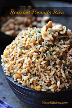 Roasted Peanut Rice