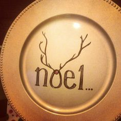 YoursTruly Painted Plate
