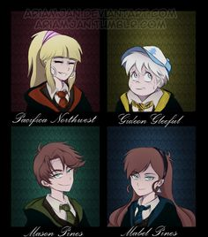 Reverse Falls and Harry Potter crossover by AriamJan.deviantart.com on @DeviantArt