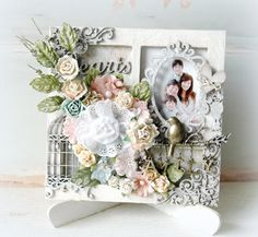Gorgeous Dusty Attic frame by Maiko - her work is just stunning!