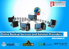 We are the reputed dealers of in-demand online #Backup solutions that include the likes of #Amazon,Softlayer,CTRLS,Vaultize,Moun10 and other top service providers. Find us here:https://goo.gl/b7PmY3