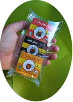 CaffeMallows Sample 3-Pack, featuring our high energy gourmet Coffee, Chocolate, and Tea Mallows