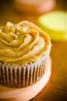Persimmon cupcake & pie recipe   (Persimmon Cream Cheese Topping:  1 cup cream cheese,  3/4 cup pureed persimmons  1 1/2 tablespoons raw honey  1 teaspoon cinnamon  1/2 teaspoon ground nutmeg)