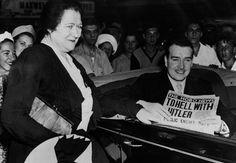 Niet alle Duitsers met de achternaam 'Hitler' waren gecharmeerd van parades en zwarte uniformen. William Patrick Hitler, een neef van de Führer, smeekte de Amerikaanse president Roosevelt te mogen meevechten tegen de nazi's – en zijn verzoek werd ingewilligd.