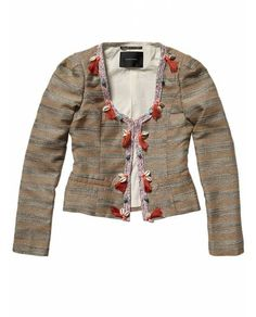 Fashion blazer with special taping and trimming - Scotch & Soda