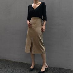 How to rock the casual chic look Office Outfits, Chic Outfits, Fall Outfits, Fashion Outfits, Fashion Trends, Work Outfits, Dress Fashion, Casual Office, Office Chic