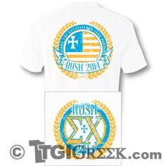 TGI Greek - Sigma Chi - Rush - Comfort Colors - Greek T-shirts #TGIGreek #SigmaChi