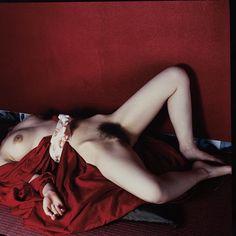 The red color is magnificent  bliklab:  Nobuyoshi Araki